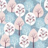 Χειμώνας πιό florest ελεύθερη απεικόνιση δικαιώματος