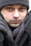 χειμώνας πορτρέτου στοκ εικόνα