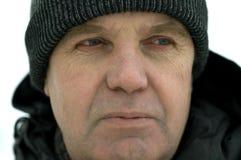 χειμώνας πορτρέτου Στοκ Φωτογραφία