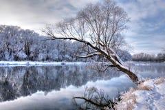 χειμώνας ποταμών Στοκ φωτογραφίες με δικαίωμα ελεύθερης χρήσης