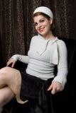 χειμώνας πουλόβερ courtney s στοκ εικόνες με δικαίωμα ελεύθερης χρήσης