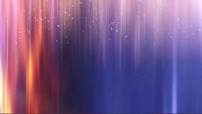 Χειμώνας που αλλάζει το χρωματισμένο υπόβαθρο, το μίγμα πυρκαγιάς, το μπλε, το νυχτερινό ουρανό και το χιόνι διανυσματική απεικόνιση