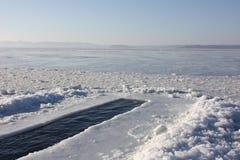 Χειμώνας που κολυμπά, Βλαδιβοστόκ, Ρωσία Στοκ εικόνες με δικαίωμα ελεύθερης χρήσης