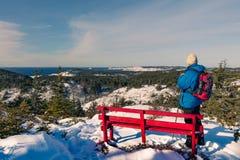 Χειμώνας που στο νησί NL Καναδάς Twillingate στοκ εικόνα με δικαίωμα ελεύθερης χρήσης
