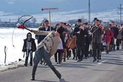 Χειμώνας που τελειώνει καρναβάλι 4 στοκ φωτογραφία με δικαίωμα ελεύθερης χρήσης