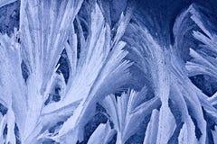 χειμώνας προτύπων πάγου Στοκ Φωτογραφία