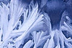 χειμώνας προτύπων πάγου Στοκ φωτογραφία με δικαίωμα ελεύθερης χρήσης