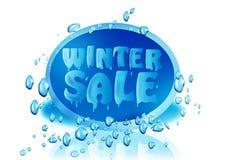 χειμώνας πώλησης Στοκ εικόνες με δικαίωμα ελεύθερης χρήσης