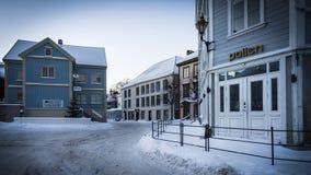 Χειμώνας σε Arendal Στοκ Φωτογραφία