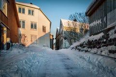 Χειμώνας σε Arendal Στοκ εικόνα με δικαίωμα ελεύθερης χρήσης