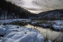 Χειμώνας σε Plitvice Στοκ φωτογραφία με δικαίωμα ελεύθερης χρήσης