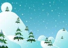 χειμώνας σκηνής Στοκ εικόνα με δικαίωμα ελεύθερης χρήσης