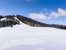 Χειμώνας στα βουνά Στοκ εικόνα με δικαίωμα ελεύθερης χρήσης