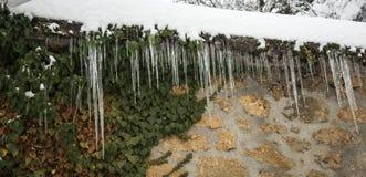 Χειμώνας στα Τρίκαλα Korinthias, Πελοπόννησος, Ελλάδα Στοκ φωτογραφία με δικαίωμα ελεύθερης χρήσης
