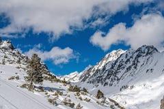 Χειμώνας στα υψηλά βουνά Tatras Στοκ Εικόνα
