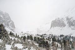 Χειμώνας στα υψηλά βουνά Tatras Στοκ εικόνες με δικαίωμα ελεύθερης χρήσης
