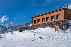 Χειμώνας στα υψηλά βουνά Tatras Στοκ φωτογραφία με δικαίωμα ελεύθερης χρήσης