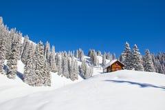 Χειμώνας στα όρη Στοκ φωτογραφία με δικαίωμα ελεύθερης χρήσης