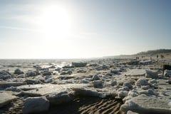 Χειμώνας στην παραλία Στοκ εικόνα με δικαίωμα ελεύθερης χρήσης