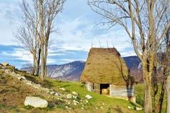 Χειμώνας στην Τρανσυλβανία Ρουμανία Στοκ εικόνα με δικαίωμα ελεύθερης χρήσης