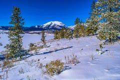 Χειμώνας στη λίμνη σε Breckenridge, Κολοράντο στοκ φωτογραφία με δικαίωμα ελεύθερης χρήσης