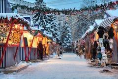Χειμώνας στη Ρήγα Στοκ φωτογραφία με δικαίωμα ελεύθερης χρήσης