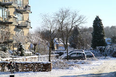 Χειμώνας στις Κάτω Χώρες Στοκ Εικόνες