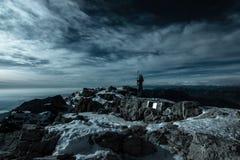 Χειμώνας στο βουνό Στοκ Φωτογραφίες