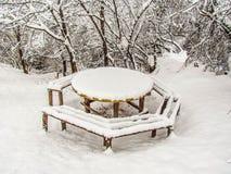 Χειμώνας στο βουνό Στοκ εικόνες με δικαίωμα ελεύθερης χρήσης