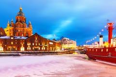 Χειμώνας στο Ελσίνκι, Φινλανδία στοκ φωτογραφίες