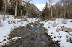 Χειμώνας στο Κολοράντο Στοκ φωτογραφίες με δικαίωμα ελεύθερης χρήσης