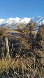 Χειμώνας στο νότιο νησί Νέα Ζηλανδία Στοκ φωτογραφία με δικαίωμα ελεύθερης χρήσης
