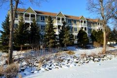 Χειμώνας στο πανδοχείο κολπίσκου μύλων Στοκ Φωτογραφίες
