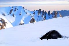 χειμώνας στρατοπέδευση&sigm Στοκ εικόνες με δικαίωμα ελεύθερης χρήσης