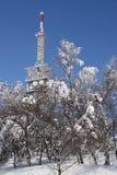 χειμώνας τηλεοπτικών συ&sigm στοκ φωτογραφίες