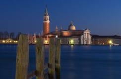 χειμώνας της Βενετίας βραδιού Στοκ εικόνες με δικαίωμα ελεύθερης χρήσης