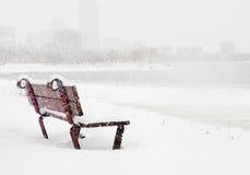 χειμώνας της Βοστώνης στοκ εικόνες