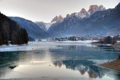 χειμώνας της Ιταλίας δο&lambda Στοκ Φωτογραφία