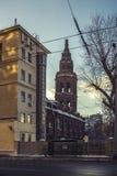 χειμώνας της Μόσχας Στοκ Εικόνα