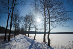 χειμώνας της Πολωνίας το&pi στοκ φωτογραφίες με δικαίωμα ελεύθερης χρήσης