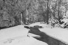 χειμώνας της Ρουμανίας Στοκ Φωτογραφία