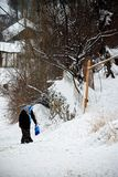 χειμώνας της Τουρκίας πρ&omi Στοκ φωτογραφίες με δικαίωμα ελεύθερης χρήσης