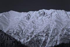 χειμώνας τοπίου βουνών Στοκ φωτογραφίες με δικαίωμα ελεύθερης χρήσης