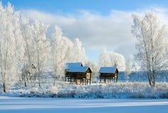 χειμώνας τοπίου στοκ φωτογραφίες με δικαίωμα ελεύθερης χρήσης