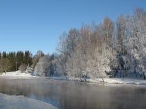 χειμώνας τοπίου Στοκ φωτογραφία με δικαίωμα ελεύθερης χρήσης