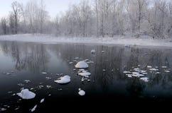χειμώνας τοπίου Στοκ Φωτογραφίες