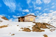 χειμώνας τοπίων ορών Στοκ φωτογραφία με δικαίωμα ελεύθερης χρήσης