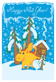χειμώνας τοπίων δράκων Στοκ φωτογραφία με δικαίωμα ελεύθερης χρήσης