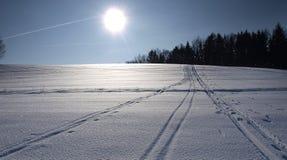 χειμώνας τοπίων Στοκ εικόνα με δικαίωμα ελεύθερης χρήσης