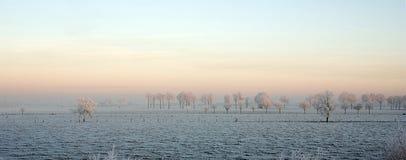 χειμώνας τοπίων Στοκ φωτογραφία με δικαίωμα ελεύθερης χρήσης